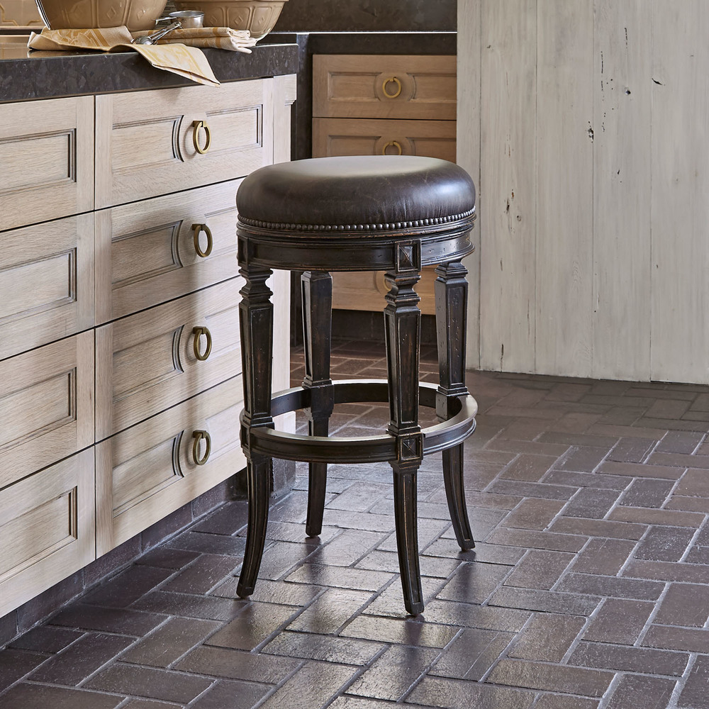 Ambella Home Collection - Rochelle Swivel Counter Stool