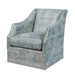 Thumbnail of Ambella Home Collection - Claudette Swivel Chair