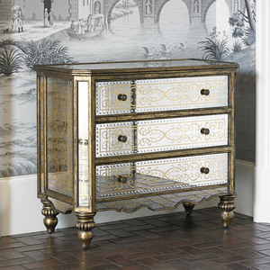Thumbnail of Ambella Home Collection - Voranado Scrolling Accent Chest