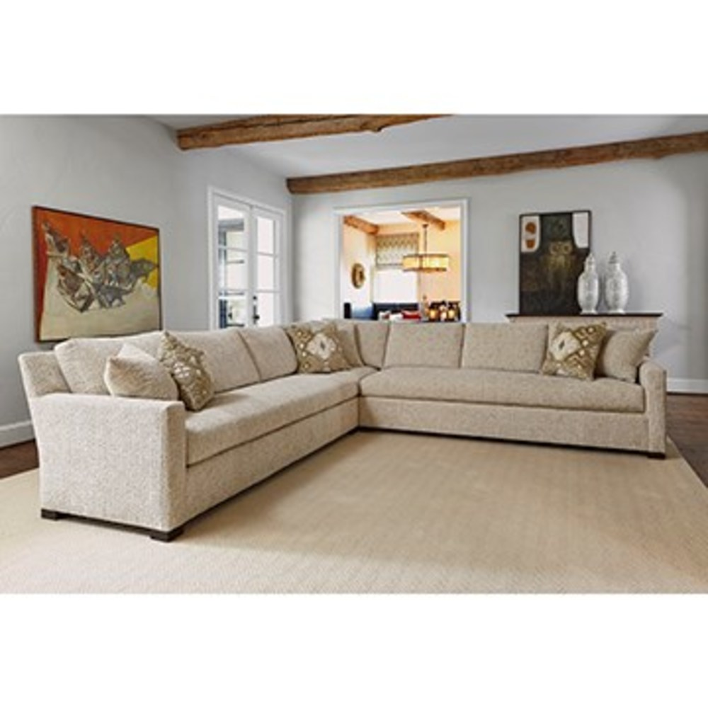 Ambella Home Collection - Profiles 3 Piece Sectional