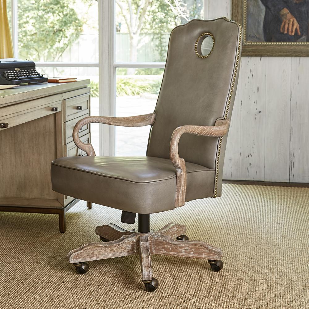 Ambella Home Collection - Queen Anne Desk Chair