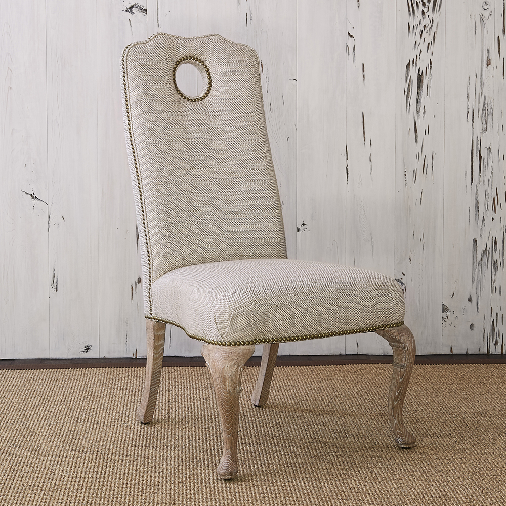 Ambella Home Collection - Queen Anne Side Chair