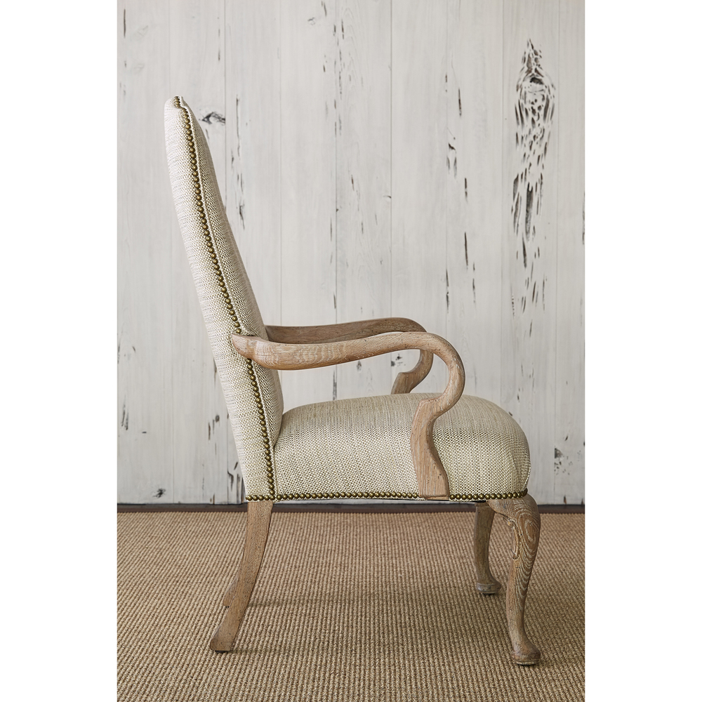 Ambella Home Collection - Queen Anne Arm Chair