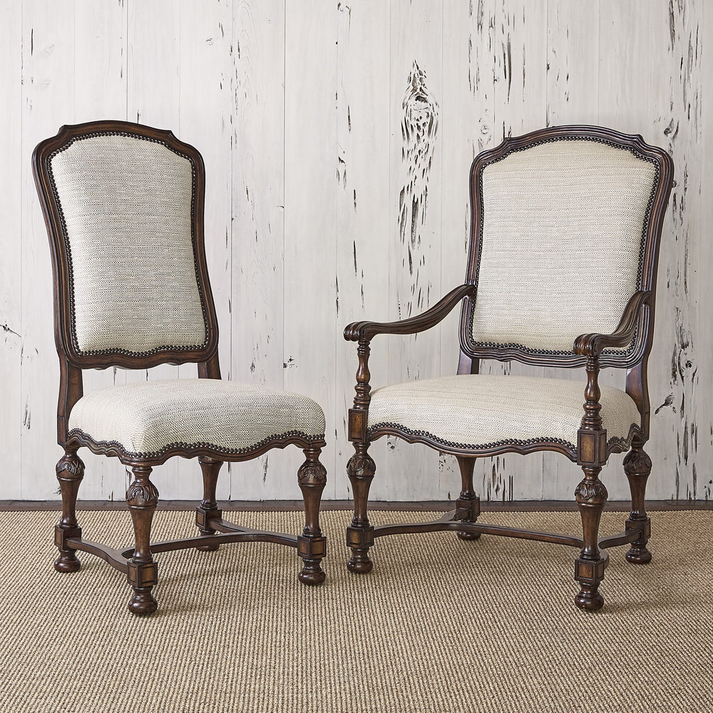 Ambella Home Collection - New Provence Side Chair