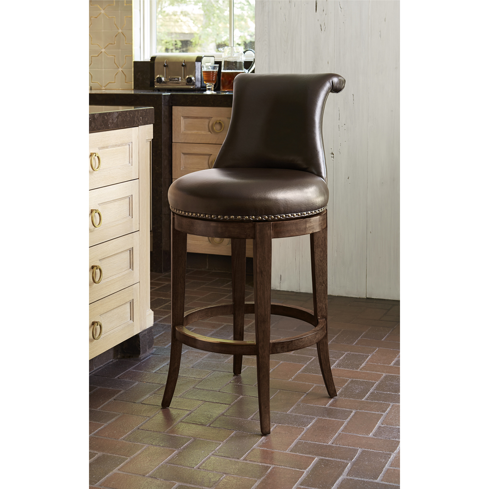 Ambella Home Collection - Ionic Bar Stool
