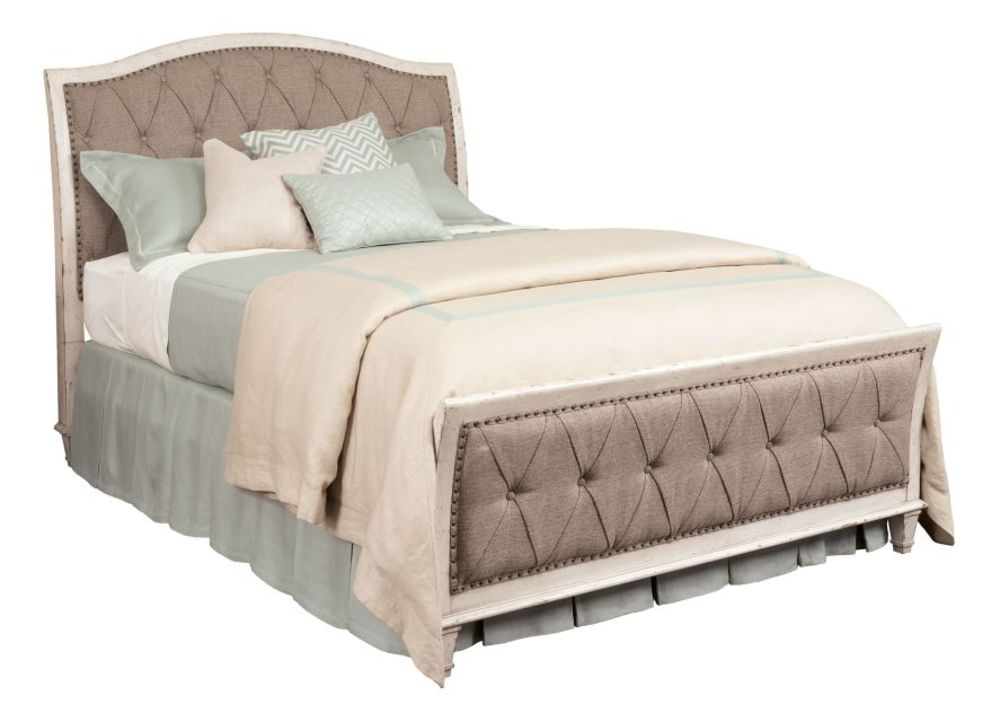 American Drew - Cal King Upholstered Bed