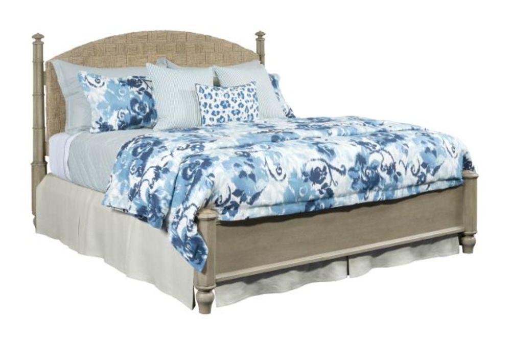 American Drew - Currituck King Low Post Bed