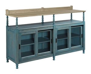 Thumbnail of American Drew - Dorset Credenza Blue