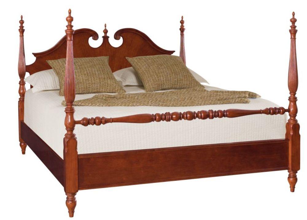 American Drew - Queen Low Poster Bed Complete