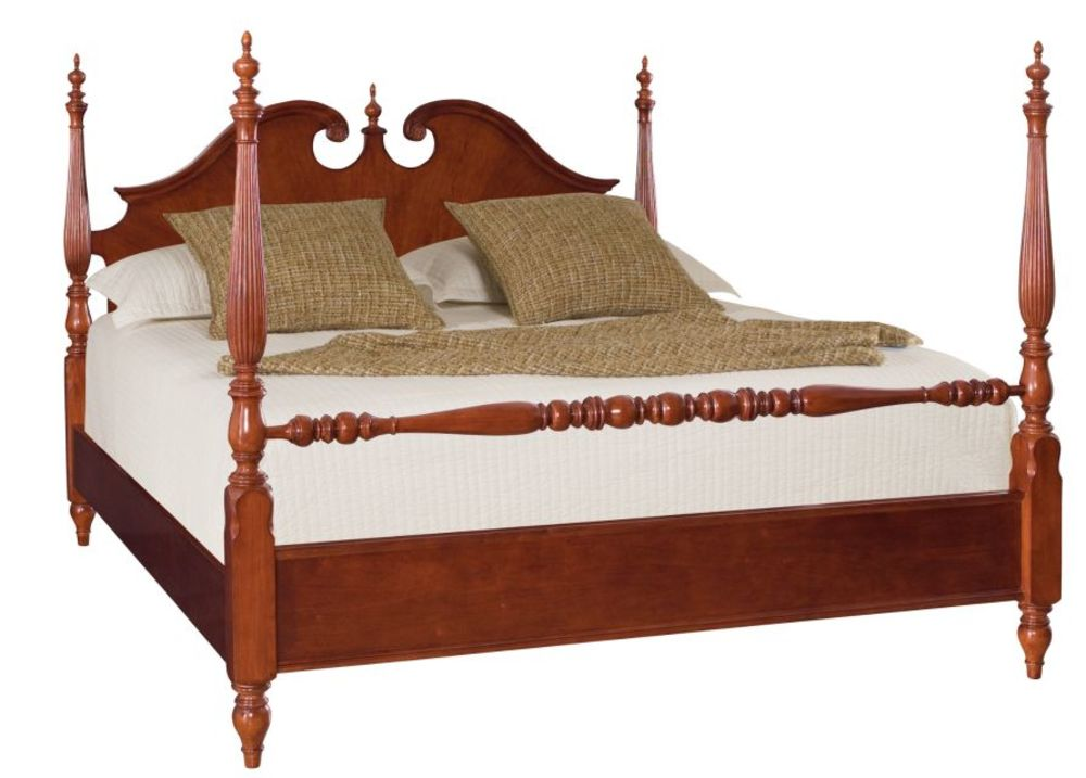 American Drew - King Low Poster Bed Complete