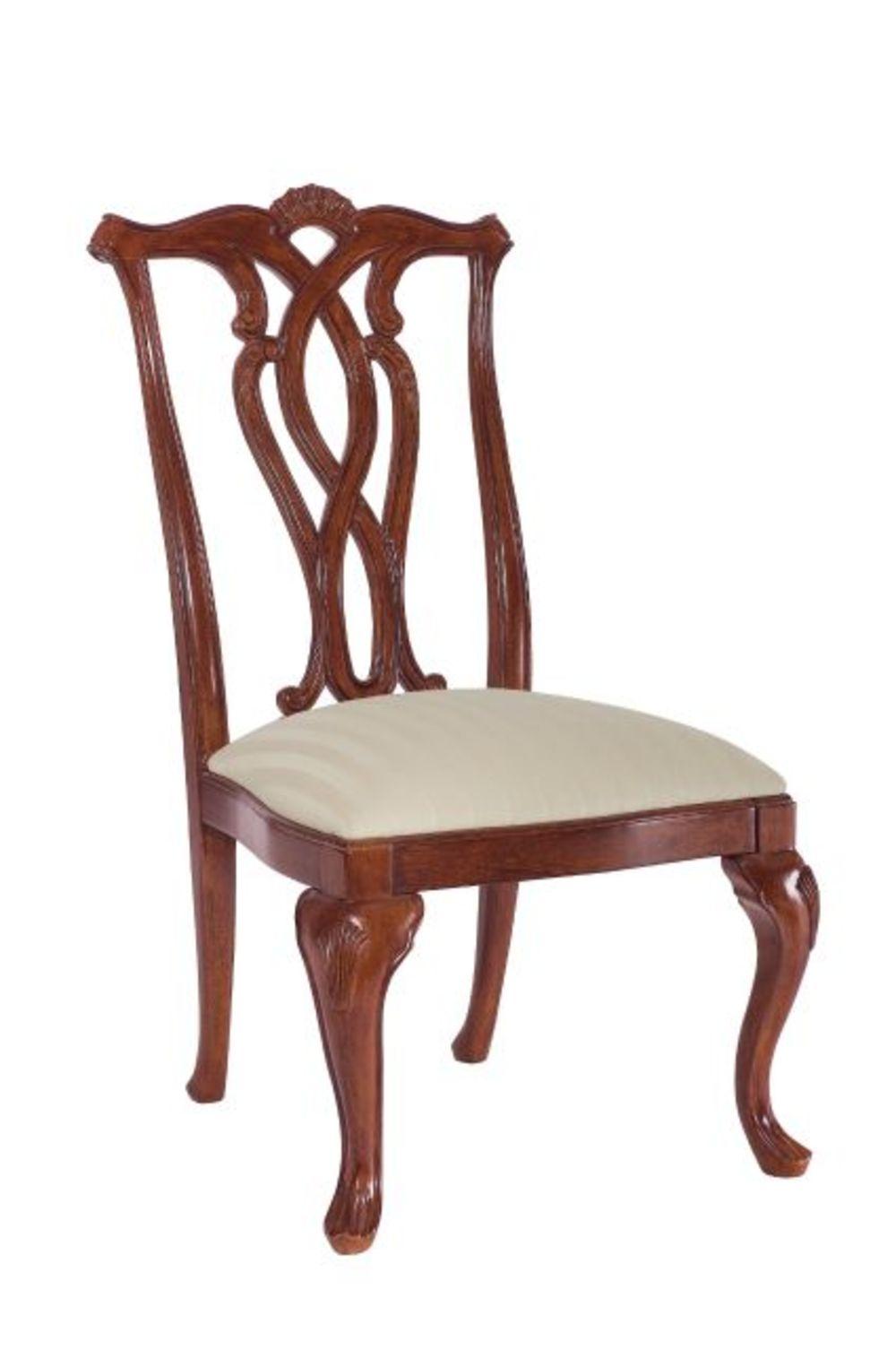 American Drew - Pierced Back Side Chair