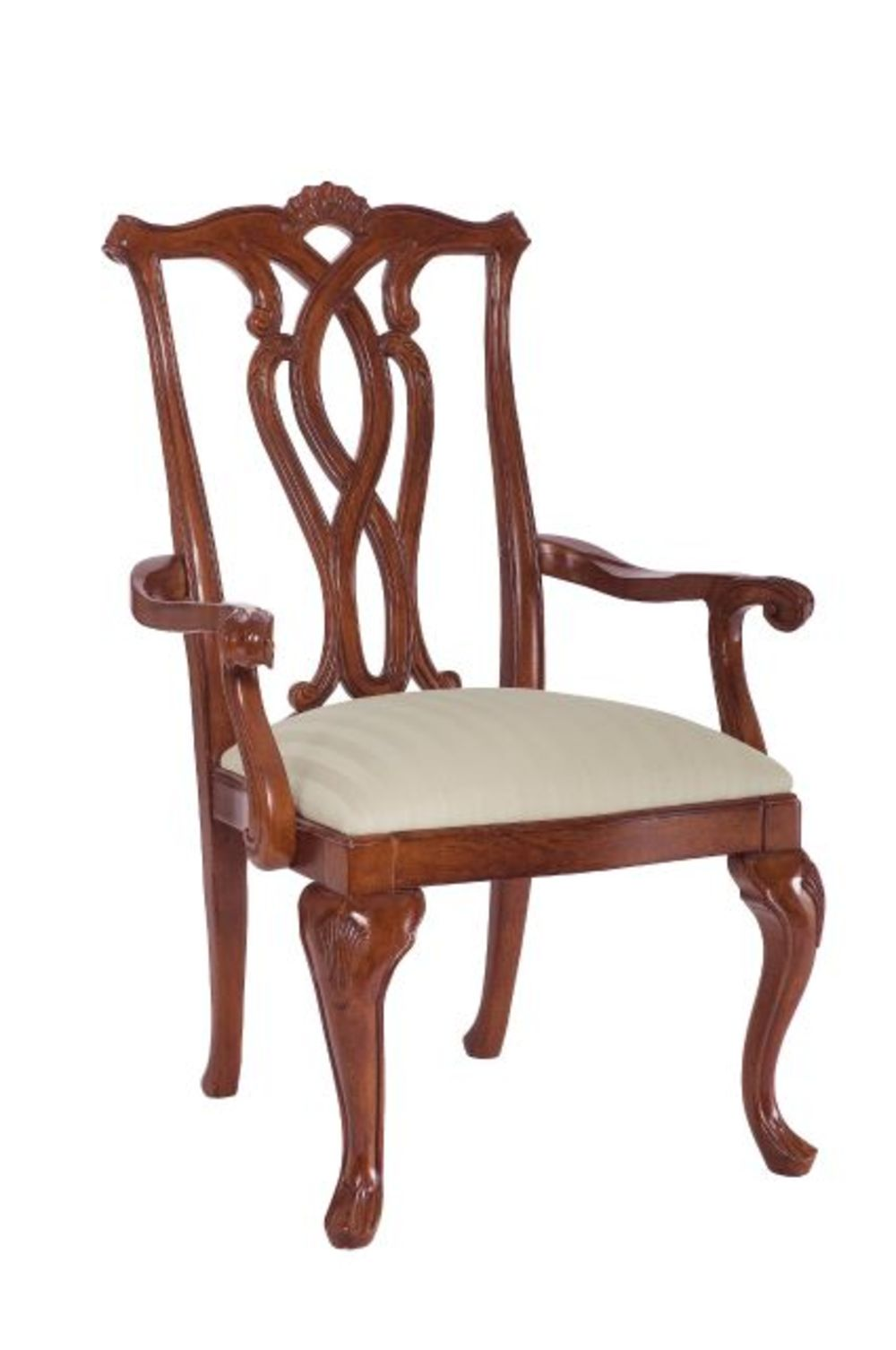 American Drew - Pierced Back Arm Chair