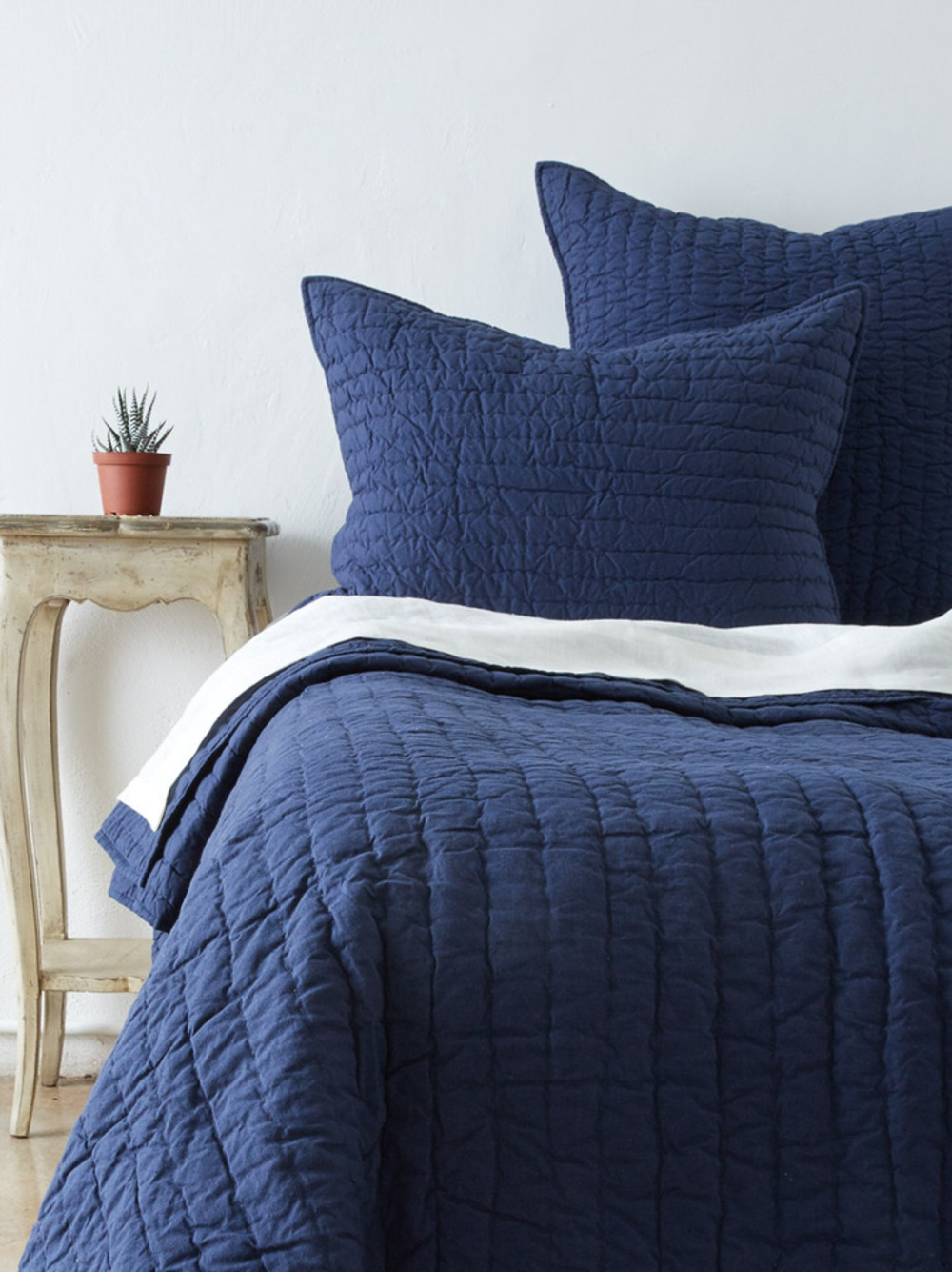 Amity Imports - Base Camp King Quilt in Navy