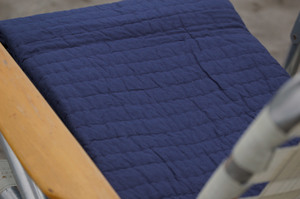 Thumbnail of Amity Imports - Base Camp King Quilt in Navy
