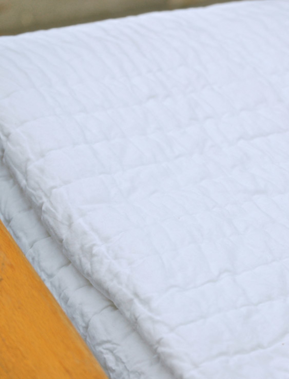 Amity Imports - Base Camp King Quilt in White