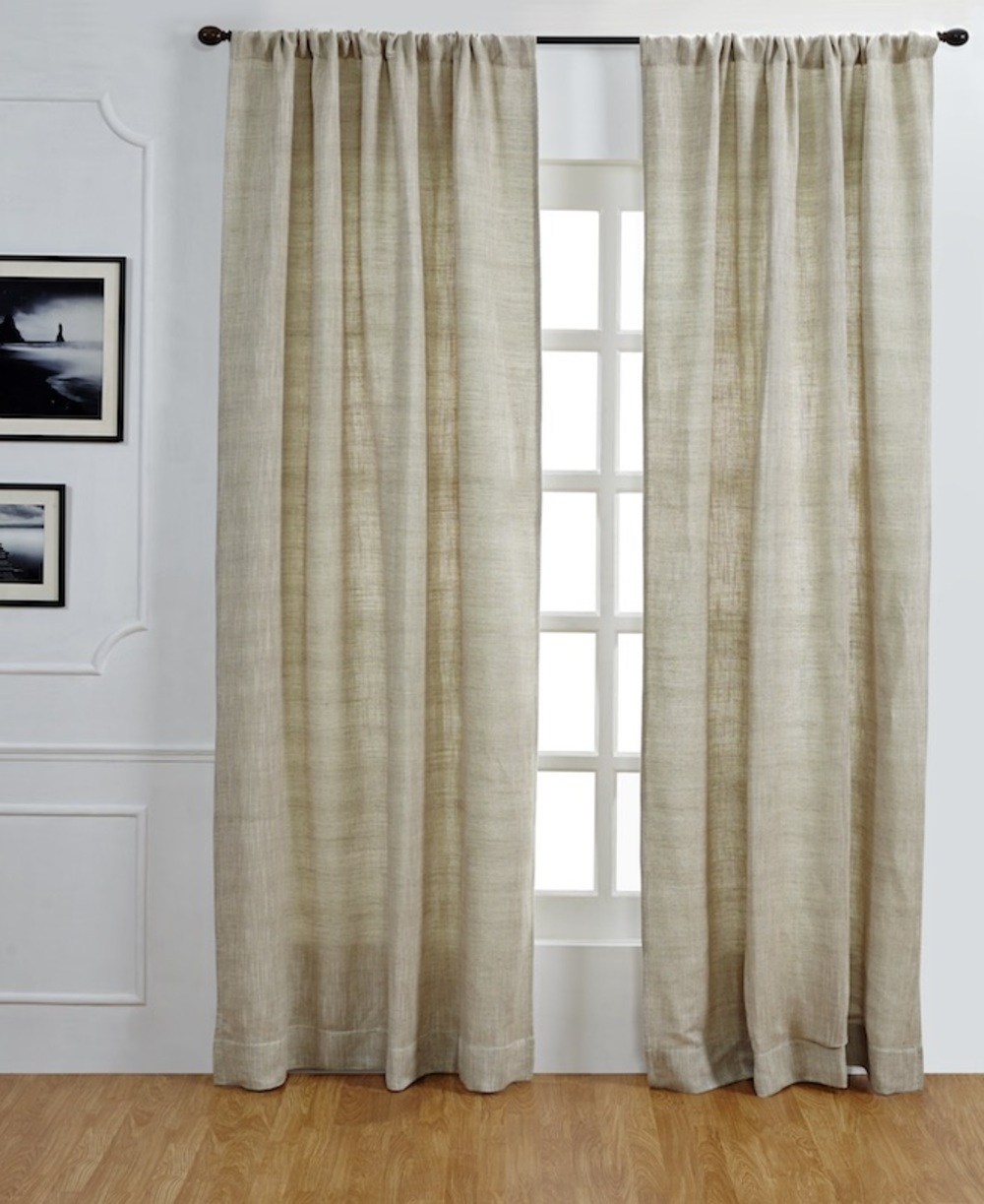 Amity Imports - Jerome Linen and Cotton Curtain