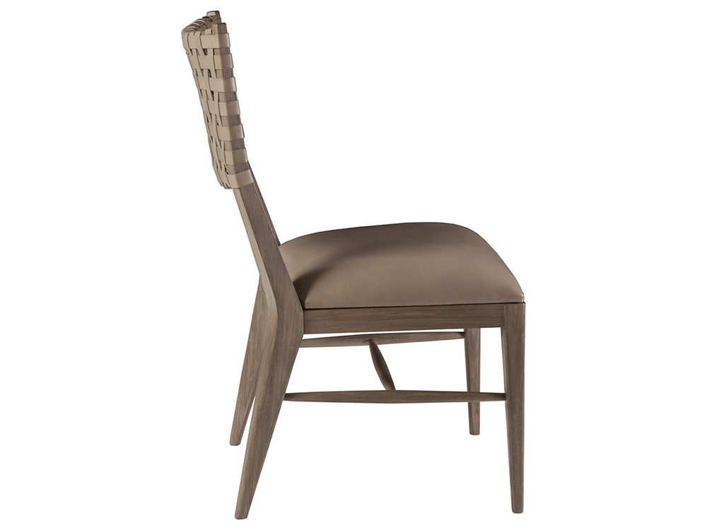 Artistica Home - Milo Leather Side Chair