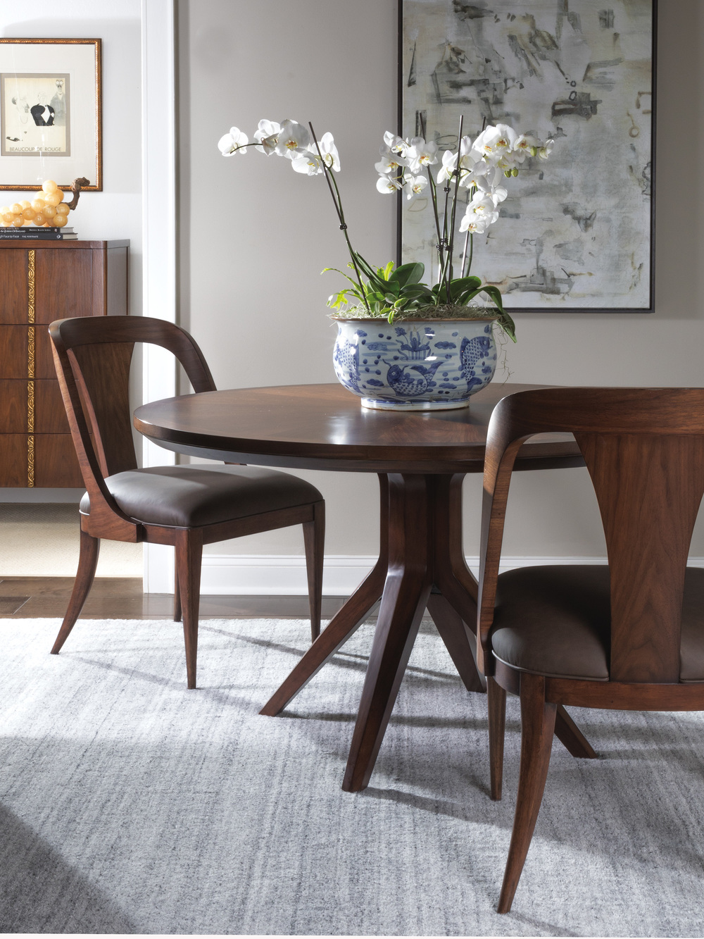 Artistica Home - Beale Low Back Side Chair