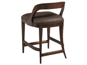 Thumbnail of Artistica Home - Beale Low Back Counter Stool