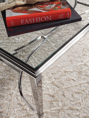 Thumbnail of Artistica Home - Sangiovese Rectangular Cocktail Table with Glass Top