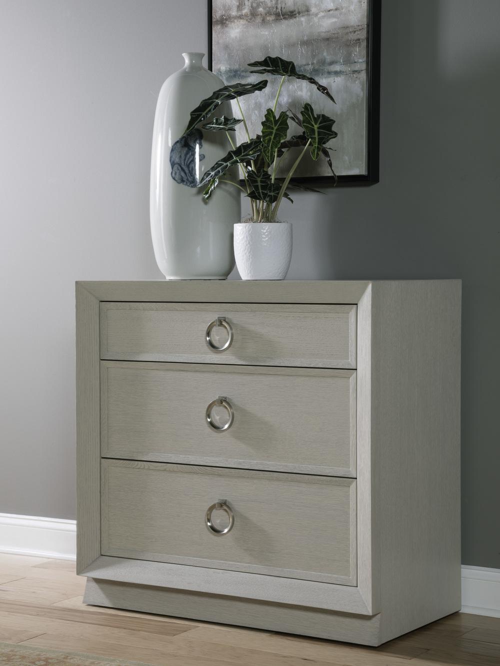 Artistica Home - Zeitgeist White Drawer Hall Chest