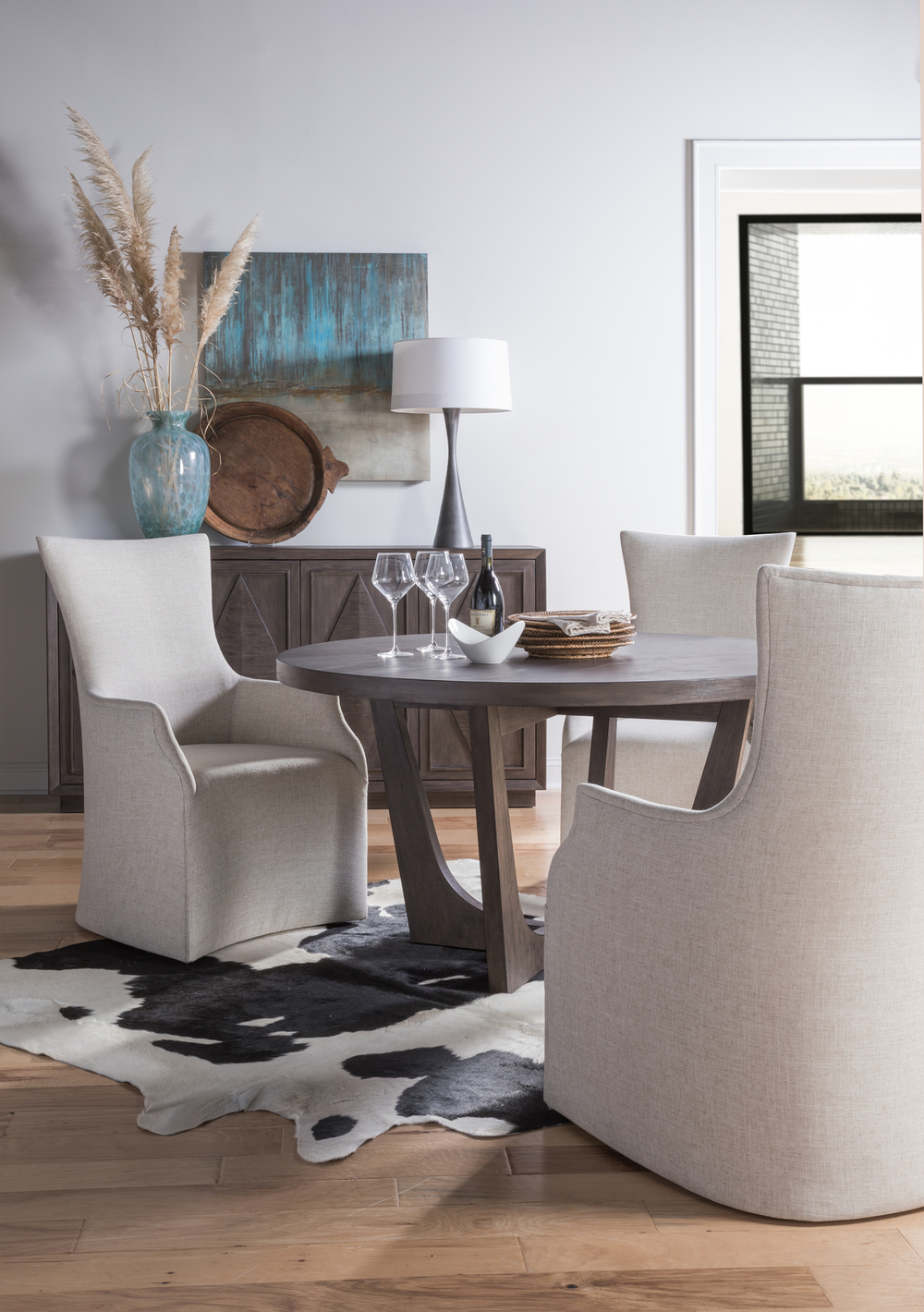 Artistica Home - Juliet Arm Chair With Casters