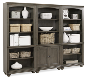 Thumbnail of Aspenhome - Oxford Door Bookcase, Combo File, and Open Bookcase