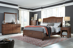 Thumbnail of Aspenhome - Oxford King Sleigh Bed