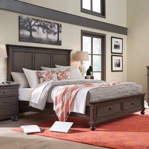 Thumbnail of Aspenhome - Oxford King Panel Storage Bed