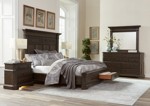 Thumbnail of Aspenhome - Foxhill King Estate Panel Storage Bed