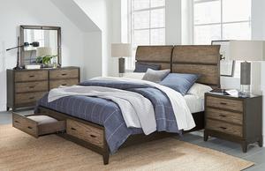 Thumbnail of Aspenhome - Westlake King Sleigh Storage Bed