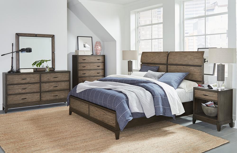 Aspenhome - Westlake King Sleigh Bed
