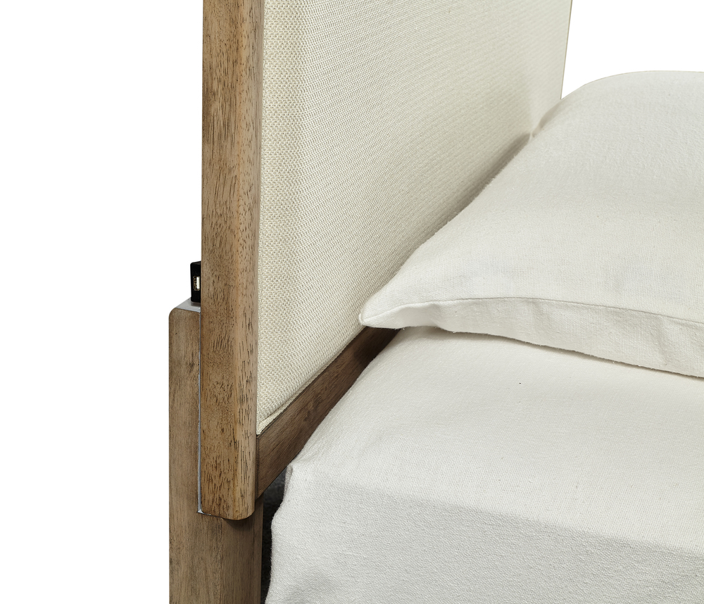 Aspenhome - Provence Full Upholstered Bed