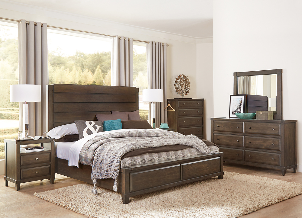 Aspenhome - Easton King Panel Bed