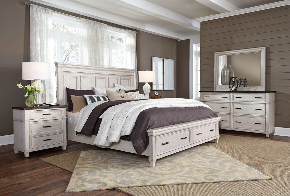 Aspenhome - Caraway King Estate Storage Bed