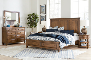 Thumbnail of Aspenhome - Thornton King Panel Storage Bed