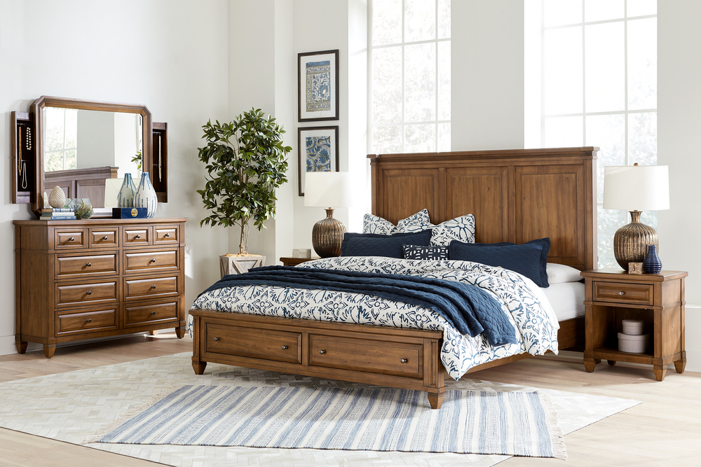 Aspenhome - Thornton King Panel Storage Bed