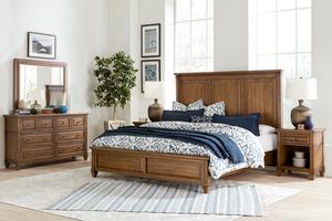 Thumbnail of Aspenhome - Thornton King Panel Bed