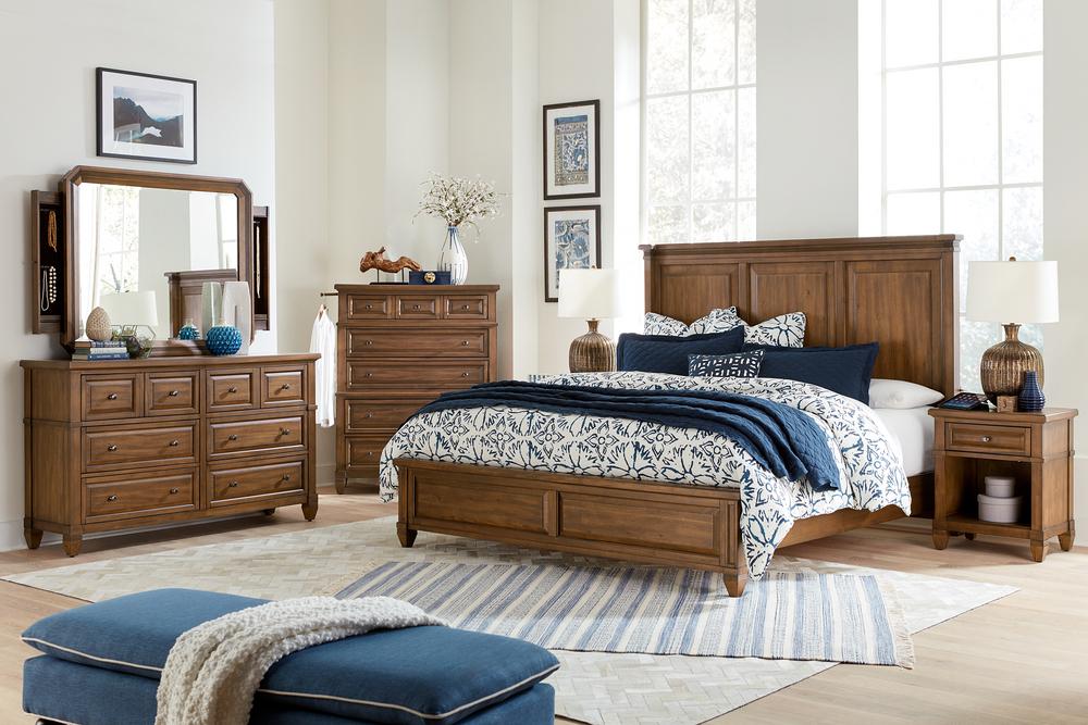 Aspenhome - Thornton King Panel Bed