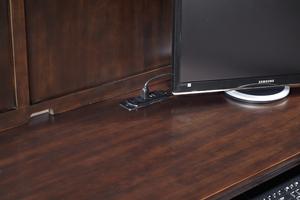 "Thumbnail of Aspenhome - Weston 66"" Credenza Desk and Hutch"