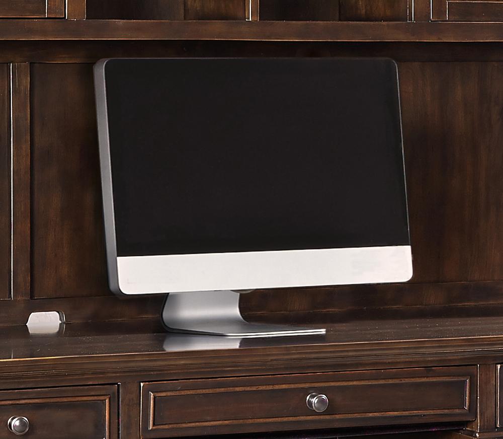 """Aspenhome - Weston 66"""" Credenza Desk and Hutch"""