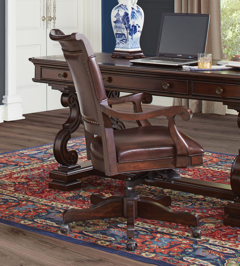 ASPENHOME - Office Arm Chair