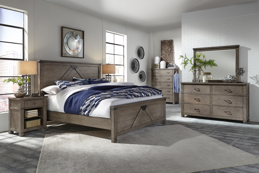 Aspenhome - Tucker King Panel Bed