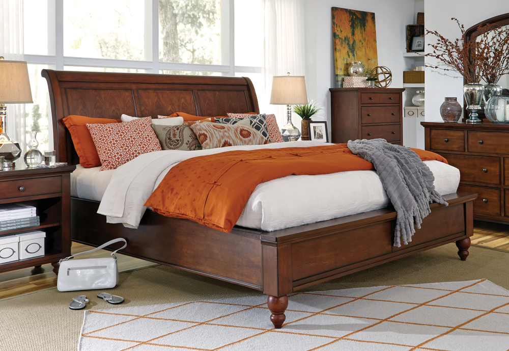 Aspenhome - Cambridge King Framed Panel Bed