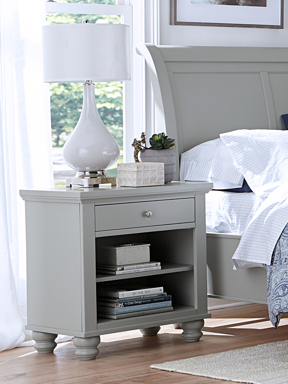 ASPENHOME - One Drawer Night Stand