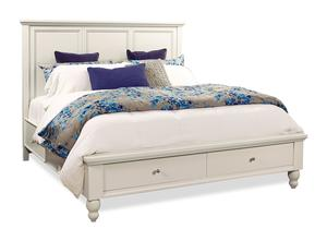 Thumbnail of Aspenhome - Cambridge Queen Framed Panel Storage Bed