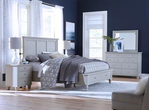 Thumbnail of Aspenhome - Cambridge King Framed Panel Storage Bed