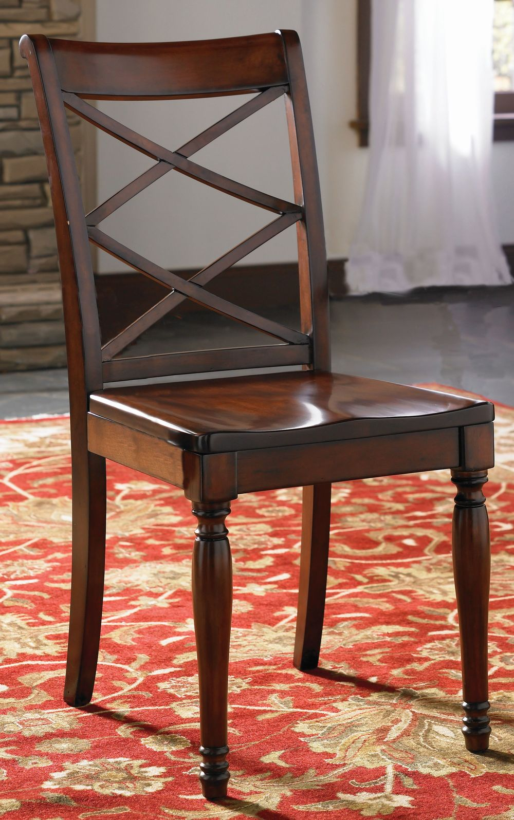 ASPENHOME - Double-X Wooden Side Chair
