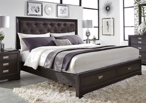 Thumbnail of Aspenhome - Front Street King Upholstered Bed