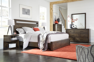 Thumbnail of Aspenhome - Modern Loft King Panel Bed